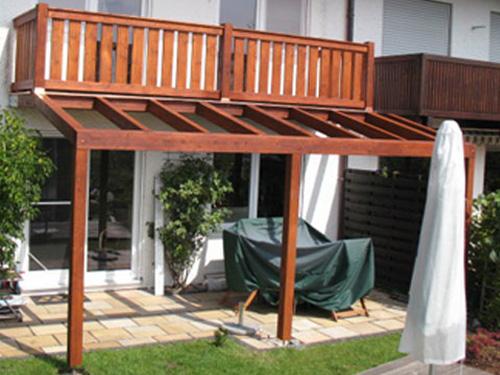 Balkon Abdichten Unter Holz ~ Balkone « HOLZRITTER